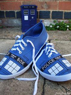 TARDIS sneakers