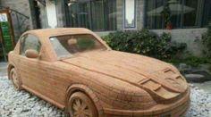 The brick car