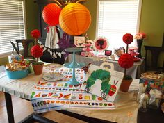 the Mathews Family Happenings: A Very Hungry Caterpillar birthday