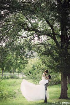 緑いっぱい*青空ロケーション |*ウェディングフォト elle pupa blog*|Ameba (アメーバ)