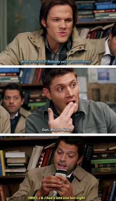 gifset] 6x15 The French Mistake. This episode is hilarious!