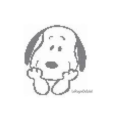 Cross stitch pattern Snoopy love dog pet Valentine Instant Cross Stitching, Cross Stitch Embroidery, Hand Embroidery, Cross Stitch Charts, Cross Stitch Patterns, Crochet Patterns, Pixel Pattern, Pattern Art, Snoopy Love