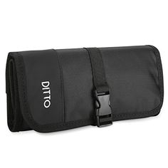 Ditto Electronics Organizer Travel Bag, Small Electronics Accessories Cable Carrying Case Roll Up Pouch for Hard Drives Cables Charger SD Memory Cards Earphone Pen -Black Travel Bag, Pouches, Charger, Tech, Organization, Electronics, Amazon, Bags, Stuff To Buy