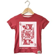 Queen of Hearts, ethically made kids clothes