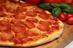 Masa fina para pizza