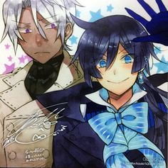 Noe and Vanitas. Memoir of Vanitas | Vanitas no Carte | The Case Study of Vanitas manga official art.