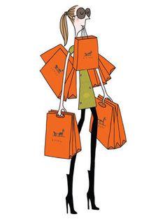 Affiche Soledad - Sac orange / 30 x 40 cm Sac orange - Image Republic