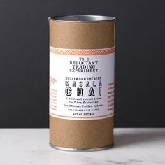 Bollywood Theater Masala Chai Loose Leaf Tea - The Reluctant Trading Experiment