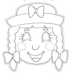 PAPÍR ÁLARCOK - kisferenc.qwqw.hu Creative Crafts, Diy And Crafts, Carnival Games For Kids, Paper Mache Animals, Puppets For Kids, Printable Masks, Animal Crafts, Happy Kids, Rock Art