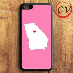 Pink State Heart iPhone 6 Plus | iPhone 6S Plus Case