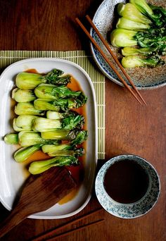 This is among the easiest, most flavorful preparations of greens imaginable, and it pairs beautifully with almost any vaguely Asian roasted meat or fish. It is also exceptional on its own, with rice. You could swap out the bok choy for broccoli, if that's all you have, or chard, or beet greens. (Photo: Rikki Snyder for The New York Times)