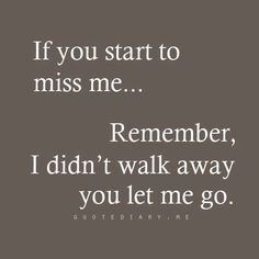 Real Talk! Becareful who you let walk away!