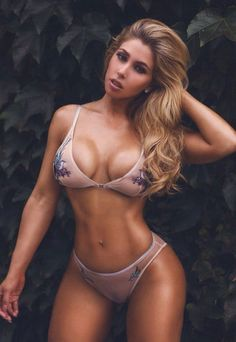 HUGE BIKINI BREASTS & WIDE FEMININE HIPS of sexy #Fitness model : Health, Exercise & #Fitspo - the best #Inspirational & #Motivational Pins by: http://cagecult.com/mma