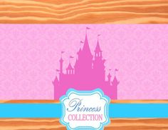 Princess Party Printables   Princess Photo by KROWNKREATIONS Cinderella Birthday, Princess Birthday, Girl Birthday, Birthday Parties, Birthday Ideas, Princess Photo, Pink Princess, Princess Collection, Backdrops For Parties