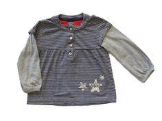 Ref. 900400- Camiseta ML - Zara- niña - Talla 3 años - 4€ - info@miihi.com - Tel. 651121480