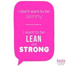 """Double tap if you agree ✋✋ So sick of girls saying """"so skinny""""  No, it's strong but lean!  There's a massive difference.  Learn about it, visit www.kaylaitsines.com.au/guides ✅"""