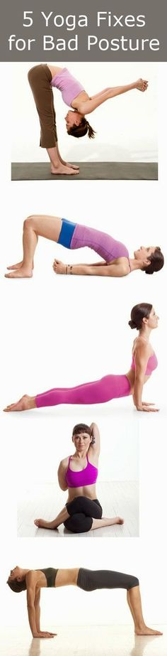 5 Yoga Fixes for Bad Posture | Health Hows