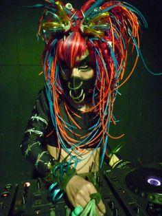 Cyberfashion We Are The Future. DJ Sisen.