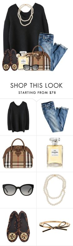 """Designer everything"" by thefashionbyem ❤ liked on Polyvore featuring J.Crew, Burberry, Chanel, Belpearl, Tory Burch and Kate Spade"