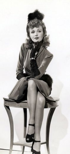 June Lang (yes, she WAS a star!  Or at least her mother thought of her as one----no, really, she was a star----mostly B-movies, but hey, most movies are B-movies!)