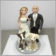 Wedding Cake Toppers With Dog - wedding cake : Wedding Ideas ...