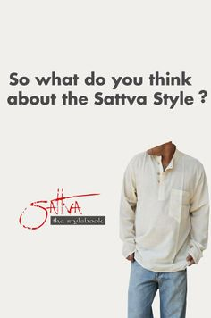 like us on our facebook page https://www.facebook.com/Sattvathestylebook