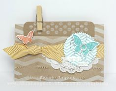 Stampin' Up! - Display Boards - Kinda Eclectic Gift Card Holder - Sarah Sagert - www.sarahsagert.stampinup.net/blog