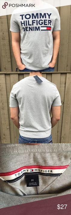 Tommy Hilfiger T Shirt NWT Tommy Hilfiger Denim  Originally $40 Gray  Size medium Tommy Hilfiger Shirts Tees - Short Sleeve