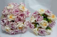 Conjunto Bouquet de Rosas Lilás