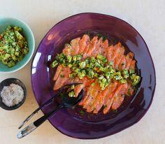 Eine kulinarische Reise: Wir haben in Perus Küche gefischt und dieses herrliche Lachs-Rezept an Land gezogen – ein feiner Fang.