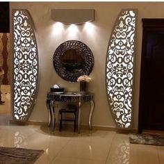 ❤ Living Room Partition Design, Pooja Room Door Design, Room Partition Designs, Ceiling Design Living Room, Bedroom False Ceiling Design, Wall Design, Gypsum Ceiling Design, Ceiling Light Design, Columns Decor
