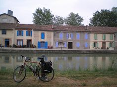 Guided and self guided overseas cycling vacations. Visit France and Europe on high quality bikes with Discover France, your adventure travel company. Narbonne France, Le Canal Du Midi, Biking, Touring, Trips, Cycling, Spaces, Explore, Heart