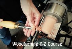 Click here to check out the Woodturning A-Z course!