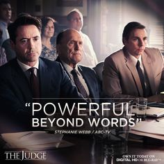 The Judge - an incredible movie! Robert Downey Jnr, Robert Duvall, Atticus Finch, The Soloist, Super Secret, Avengers Age, Tony Stark, Happy Kids, Great Movies