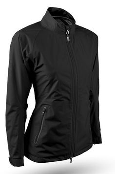 Sun Mountain Ladies & Plus Size Cumulus Golf Jackets - Black or Titanium #lorisgolfshoppe
