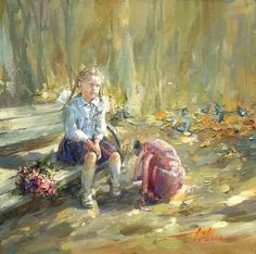 Inessa Morozova, 1981 | Plein air /Figurative painter | Tutt'Art@ | Pittura * Scultura * Poesia * Musica |