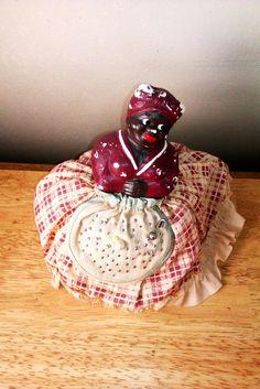 Vintage Black Americana Mammy Pincushion Doll