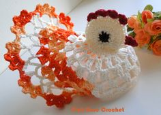 Easter chickens on Crochet - PINK ROSE CROCHET