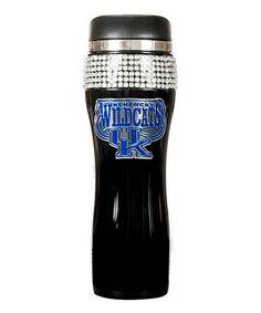 Kentucky Wildcats Black 16-Oz. Bling Travel Tumbler #zulily #zulilyfinds
