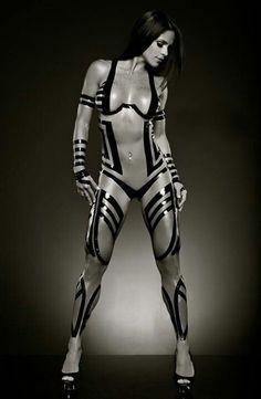 Futuristic Body Art