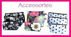 monogrammed cosmetic bags and other gifts from my business!
