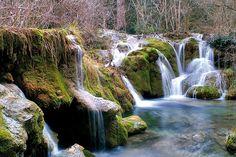 Nacimiento del Río Cuervo, en la provincia de Cuenca.