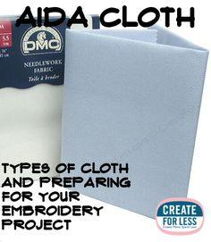 Aida Cloth – Types, Stitch Counts, and Tips -- CreateForLess Modern Cross Stitch, Cross Stitch Designs, Cross Stitch Patterns, Diy Embroidery, Cross Stitch Embroidery, Cross Stitch Calculator, Stitch Crochet, Cross Stitch Tutorial, Cross Stitch Finishing