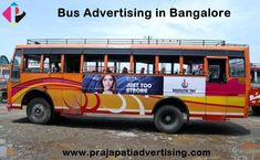 We offer Bus Advertising in Bangalore & surrounding areas. Enquiry now with us to get more details & Price Quotations. Bus Advertising, Advertising Services, Revenue Model, Capital City, Pune, Public Transport, Transportation, Branding, Travel