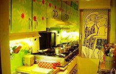 Colorful Home Decor – An Italian Apartment