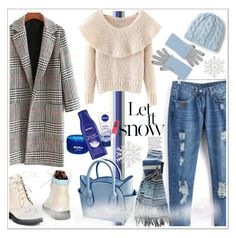 """""""LET IT SNOW!!!"""" by kskafida ❤ liked on Polyvore featuring Lands' End and Kinross"""