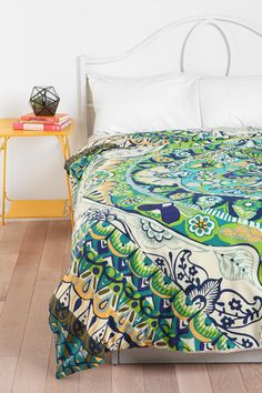 Magical Thinking Painted Mandala Duvet Cover  #UrbanOutfitters     decisions decisions