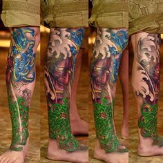 d8c9e92f4019b outline in color masks japanese 40 Best Japanese Mask Tattoos - Designs and  Ideas