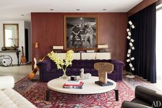 We go inside the handsome Los Angeles home of Adam Levine–performing tonight at the Academy Awards