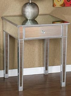 Hammered Metal Top Coffee Table